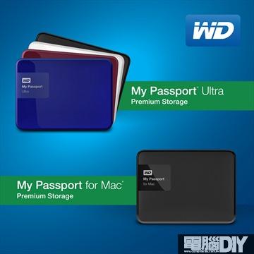 【WD新聞照片】全新My Passport硬碟提供高達3 TB的容量與更簡易的備份軟體