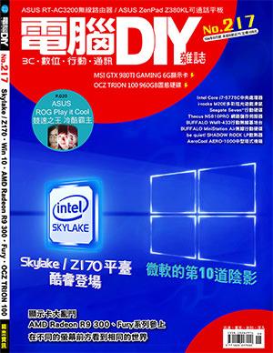 電腦DIY-217封面