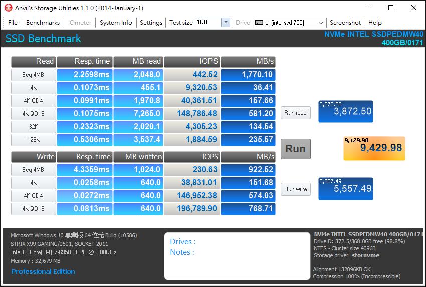 Intel Core i7-6950X-10