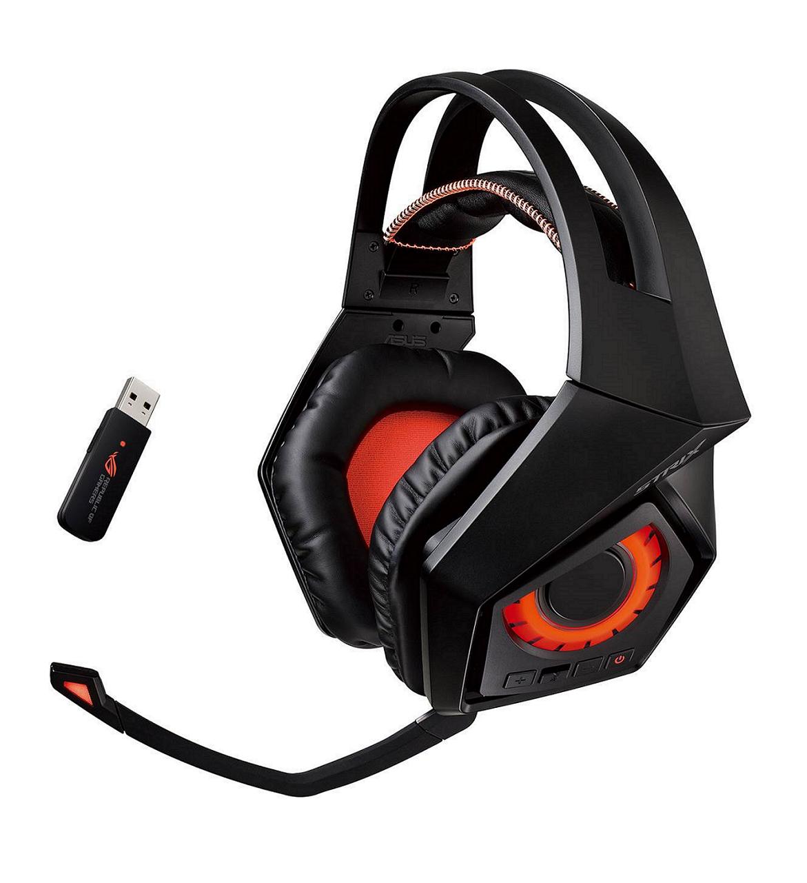 ROG STRIX Wireless無線電競耳麥採用2.4GHz無線技術,可提供低延遲音訊傳輸,玩家透過即時音效即可俐落察覺戰場動靜,取得絕佳優勢。